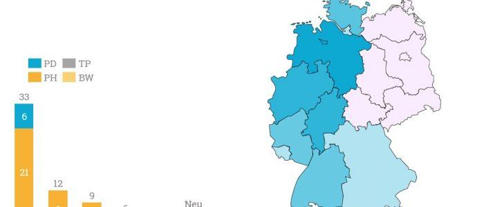 Die Verteilung der Einrichtungen der Dorea Gruppe - vor allem Niedersachsen verfügt über viele Standorte.