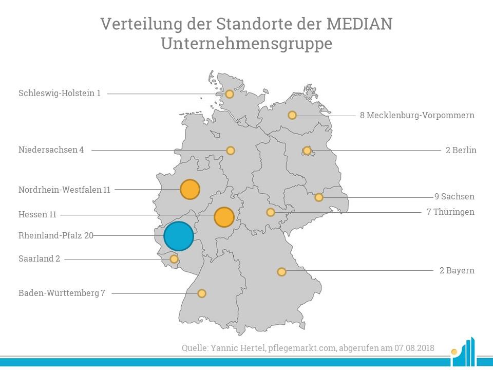 Besonders in Rheinland-Pfalz, Hessen und NRW verfügt das Unternehmen über Standorte.