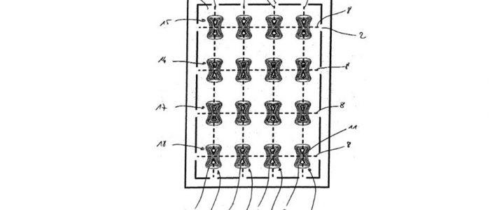 """Patentradar: Patent für ein """"Federelement für eine Matratzenaufnahme eines Bettes, insbesondere eines Kranken- und/oder Pflegebettes"""". Patentanmelder: Hermann Bock GmbH; Veröffentlichungsnummer: DE202017104121U1"""