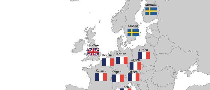 Der europäische Markt wird klar von französischen Betreibern dominiert.