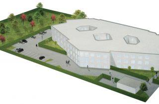 Der Neubau der Heinrichs Gruppe in Heinsberg. Quelle: Heinrichs Gruppe/Nina Schulz