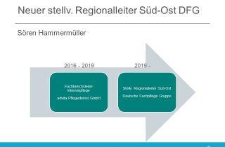 Sören Hammermüller (Top 40 unter 40) wechselt von der advita Pflegedienst GmbH zur Deutsche Fachpflege Gruppe