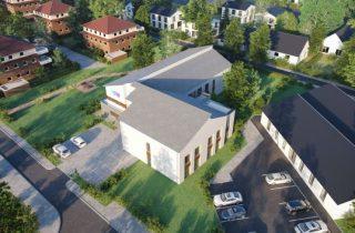 Ein Modell der neuen Wohneinrichtung Barkhausen von der Diakonie Stiftung Salem (Bild: Diakonie Stiftung Salem)
