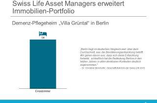 Swiss Life Asset Managers kauft Dorea Immobilie