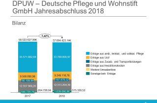 DPUW Deutsche Pflege und Wohnstift GmbH Jahresabschluss 2018 Bilanz