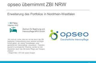 opseo uebernimmt Zentrum fuer Beatmung und Intensivpflege NRW