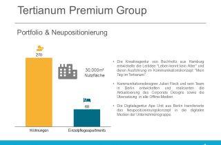 Tertianum Group Neupositionierung 2020