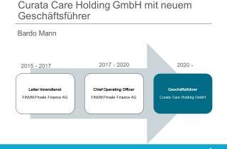 Curata Care Holding GmbH CEO Bardo Mann