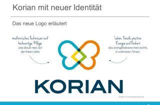 Neues Logo von Korian