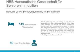 HBB Hanseatische Gesellschaft plant Pflegeheim in Schweinfurt