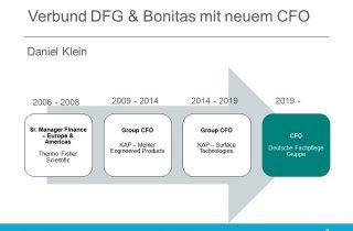 DFG Bonitas neuer CFO Daniel Klein