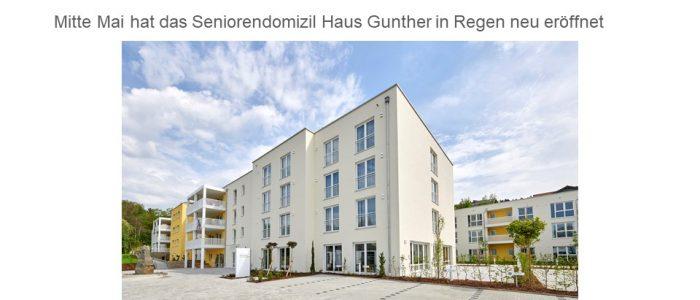 SCHÖNES LEBEN Gruppe eröffnet Pflegeeinrichtung in Niederbayern