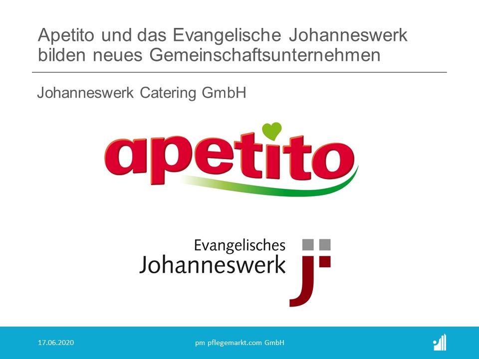 Die apetito catering B.V. & Co KG plant, zusammen mit der Evangelisches Johanneswerk gGmbH aus Bielefeld ein neues Gemeinschaftsunternehmen