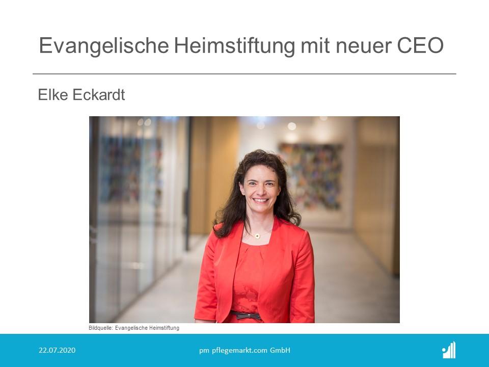 Evangelische Heimstiftung mit neuer CEO: Elke Eckardt