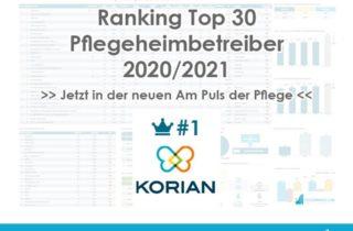 Top 30 PH Betreiber Rang 1 Webseite Titel Korian