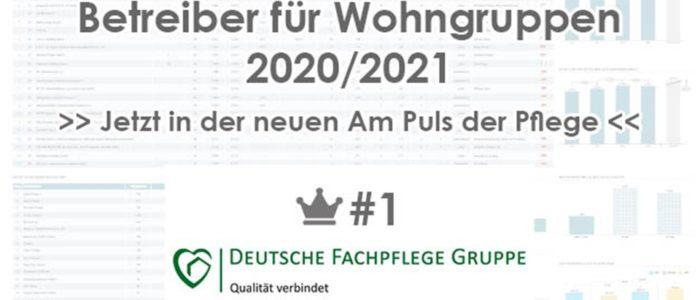 Top 5 Betreiber Wohngruppen Rang 1 Webseite Deutsche Fachpflege Gruppe