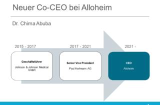 Neuer CEO bei Alloheim - Dr Chima Abuba