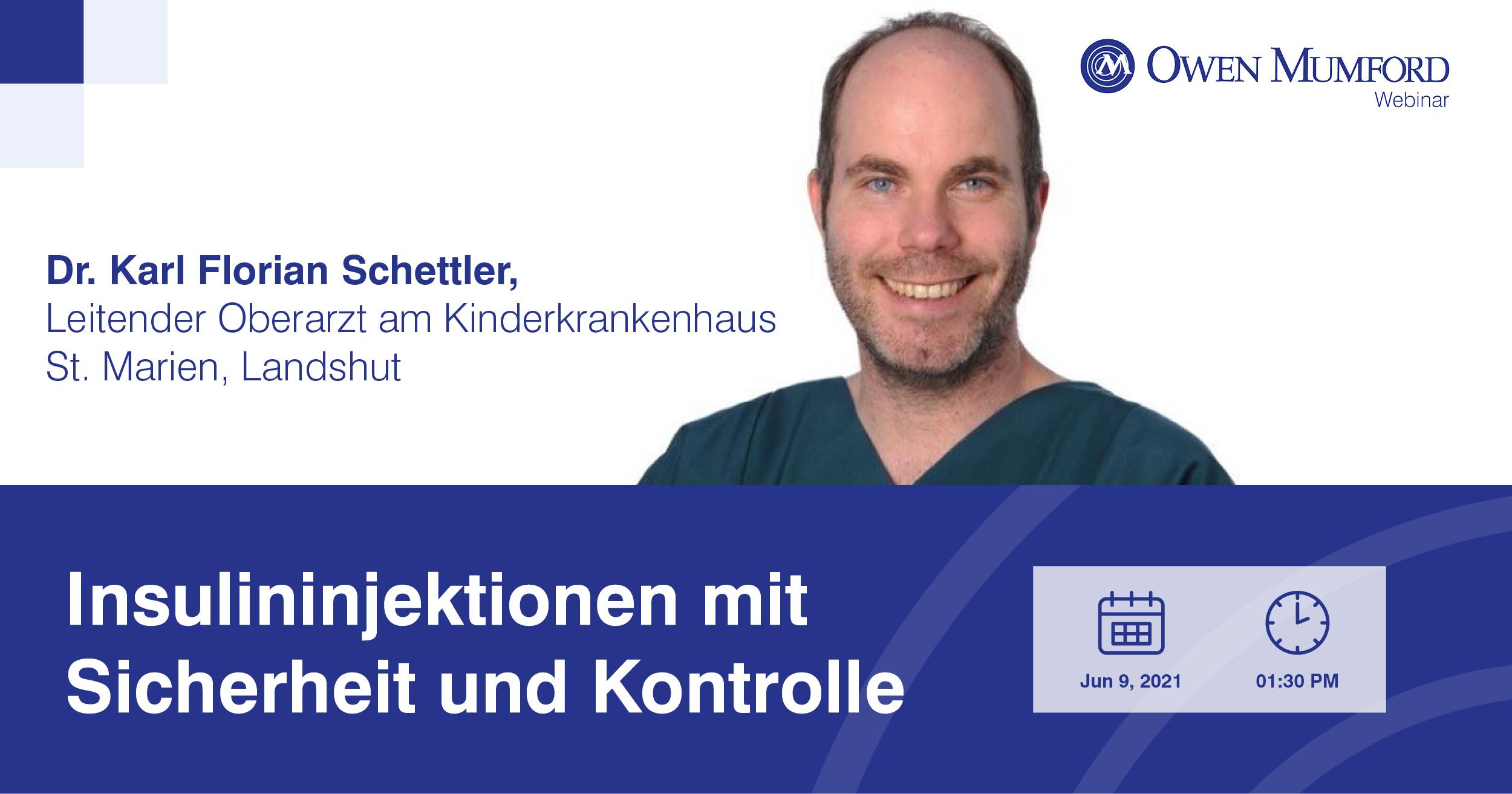Webinar mit Dr. Karl Florian Schettler am 09.Juni 2021