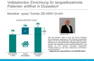 Vollstationäre Einrichtung für langzeitbeatmete Patienten eröffnet in Düsseldorf