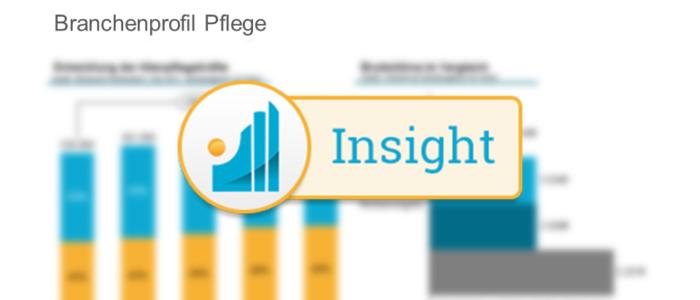 Branchenprofil Pflege - Entwicklung der Zahl der Mitarbeitenden in der Pflege Insight