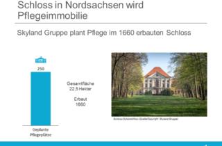 Schloss in Nordsachsen wird Pflegeimmobilie